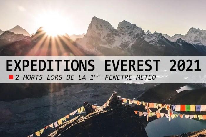 Everest : deux alpinistes morts en quelques heures