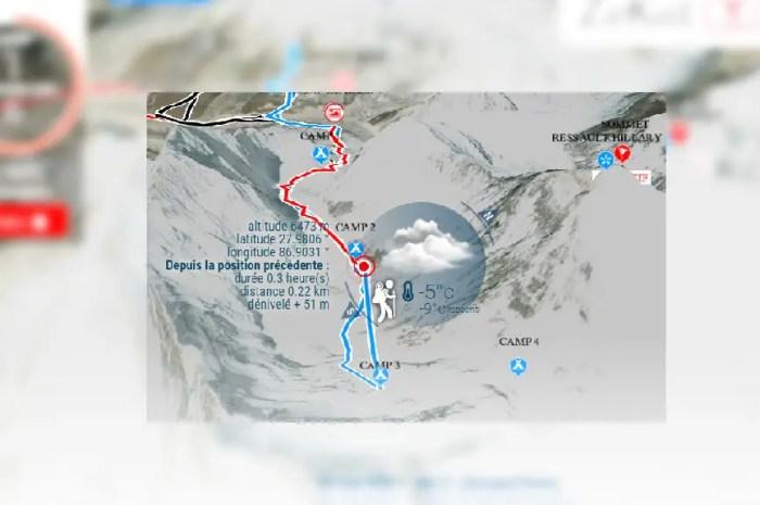 Everest : le Français Pascal Denoël en route vers le sommet !