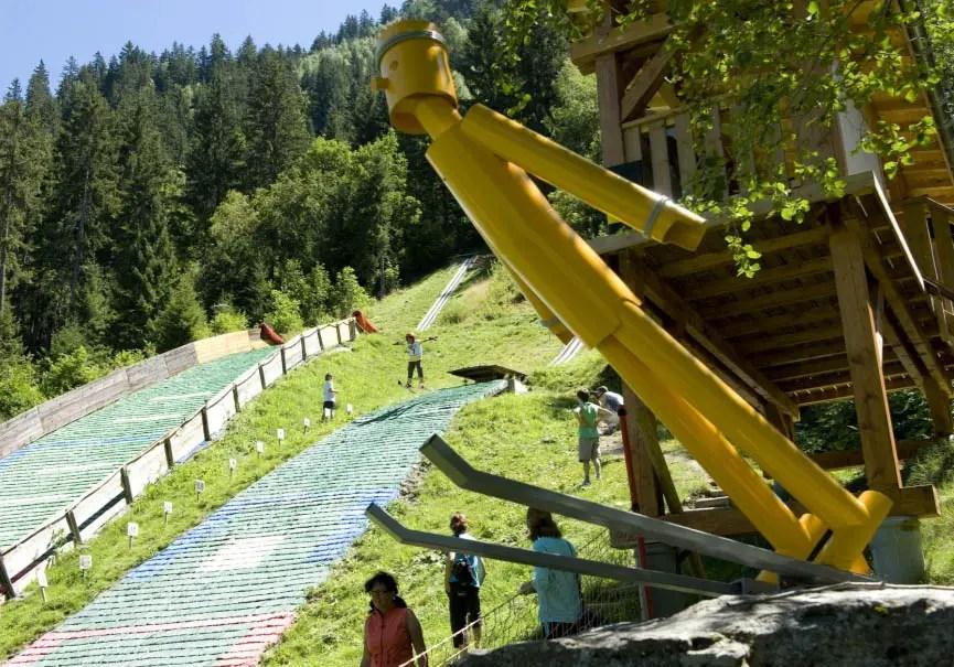 initiation saut à ski