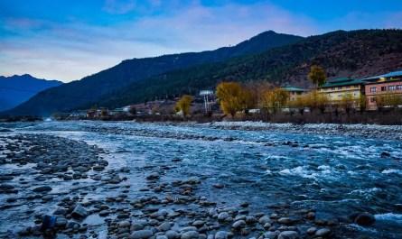 rivière bhoutan