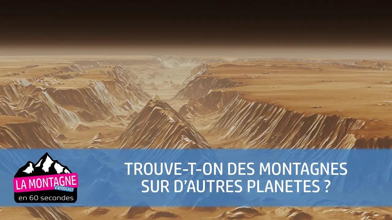 montagnes espace