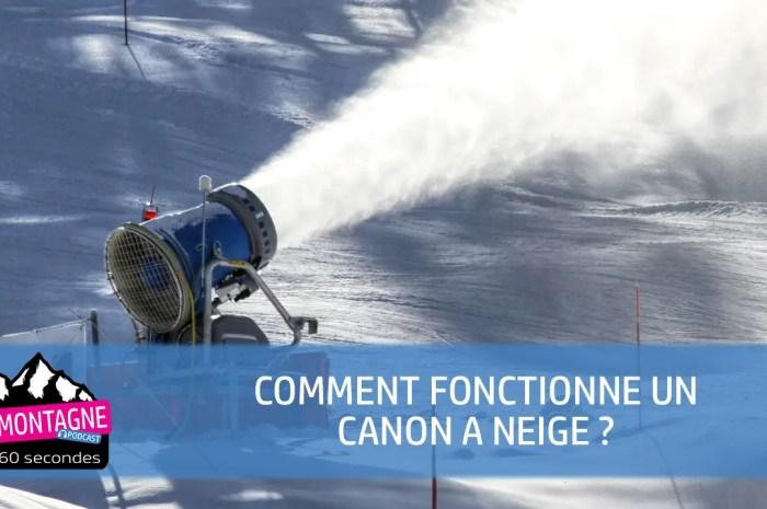 Comment fonctionne un canon à neige, un enneigeur ?
