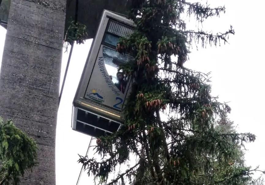 arbre téléphérique