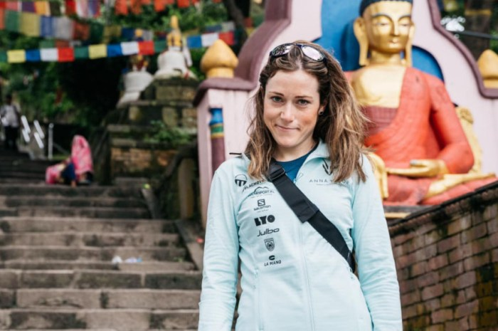 Anna Tybor vise une descente à ski du Manaslu, 8.163 mètres !