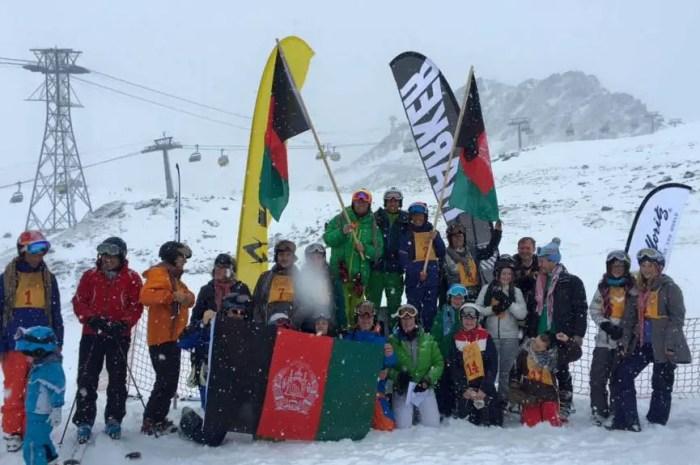 Les skieurs olympiques d'Afghanistan ont pu rejoindre l'Italie