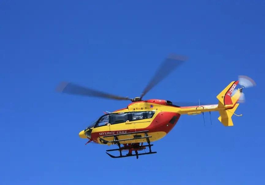 hélicoptère sécurité civile