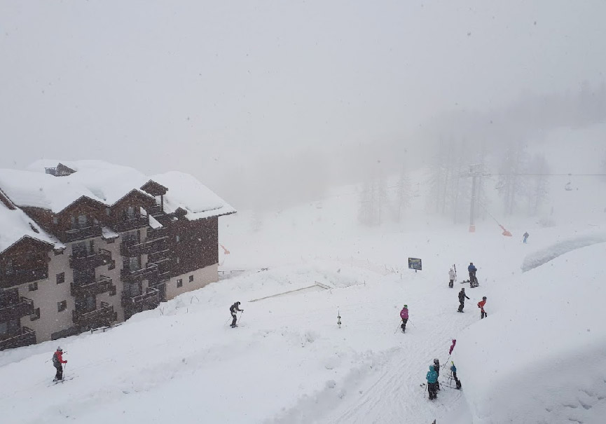 pré-ouverture ski 2021