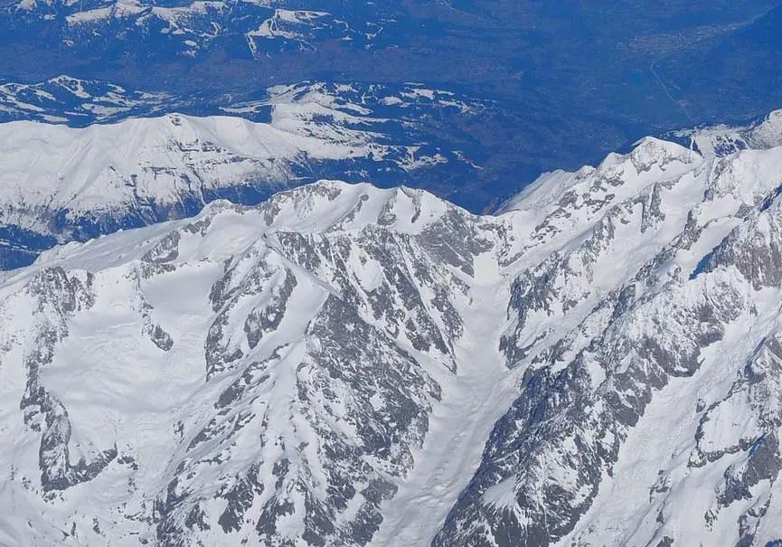 glaciers mont blanc