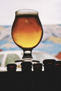 One of Altitude's award winning beers