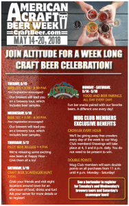 Craft Beer Week Poster