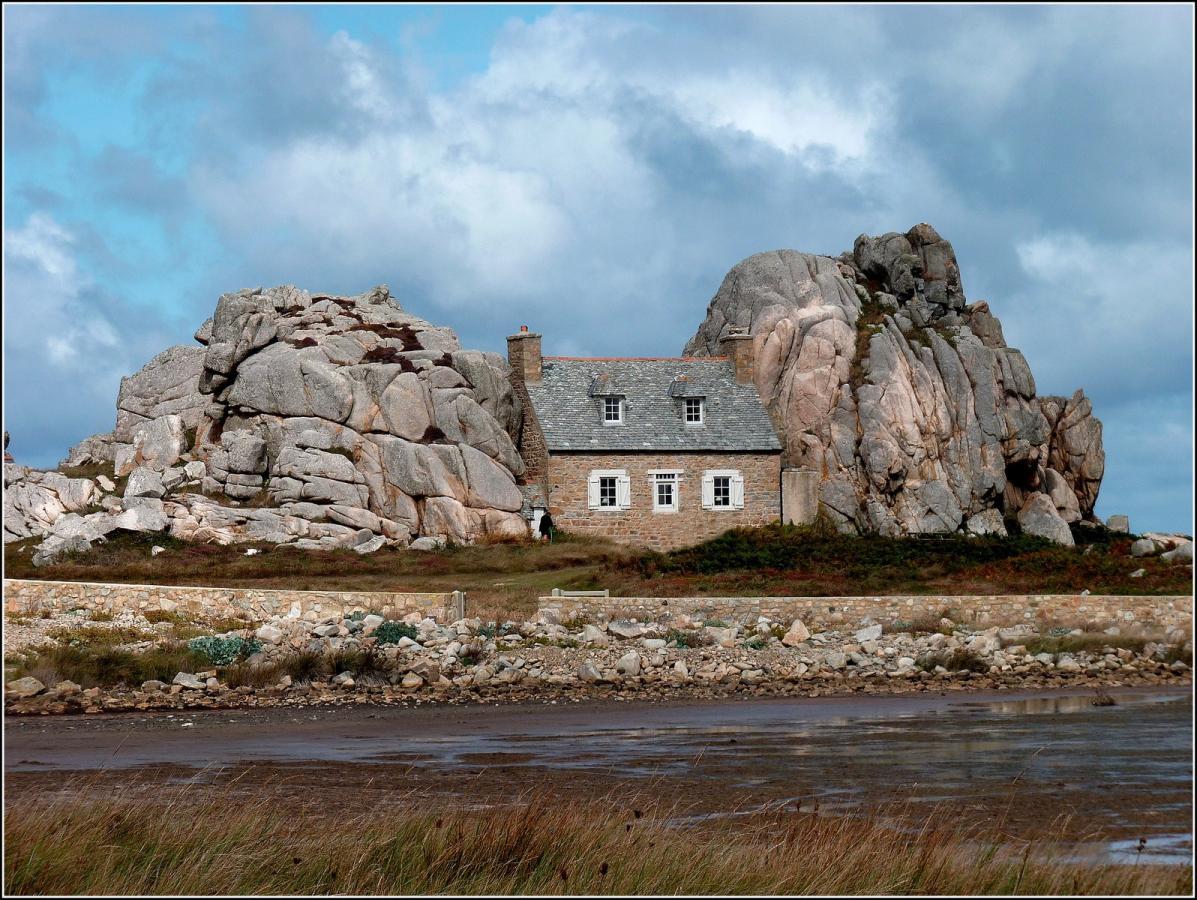 Cte De Granit Rose Par Le GR34 Randonne Massif Armoricain