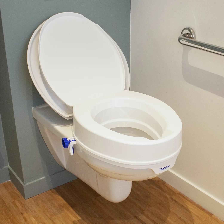 rehausseur wc hauteur 10 cm aquatec 90 invacare