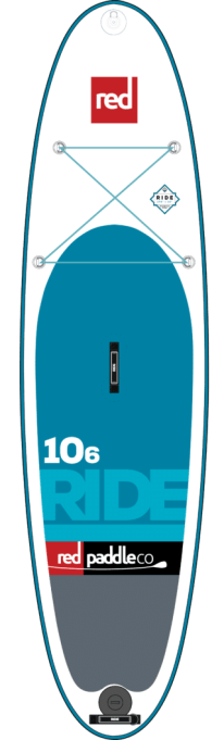 SUP gonflable Red Paddle 10'6'' Ride