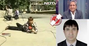 ravish kumar trolled NDTV Fayaz Bukhari Sushant Sinha fake news funny video3