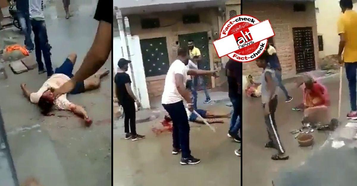 जोधपुर में 2 परिवारों के बीच मारपीट का वीडियो हिंदू-मुस्लिम ऐंगल के साथ हुआ वायरल