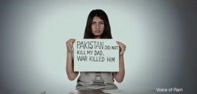 Pakistan did not kill by dad, war killed him.