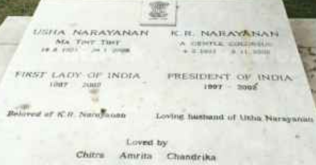 Malicious attempts to portray K.R. Narayanan, India's first Dalit president, as a Christian