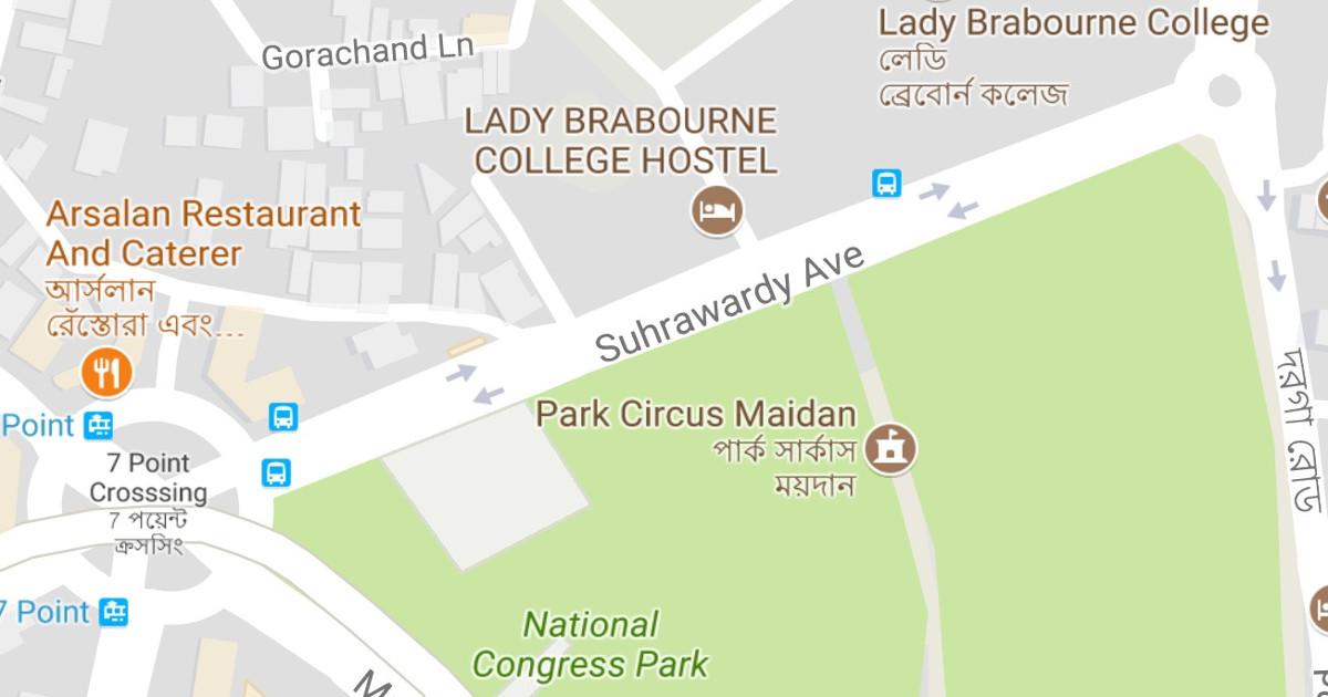 altnews.in - Pratik Sinha - Swarajya magazine and Jaideep Mazumdar spread falsehood about Suhrawardy Avenue in Kolkata