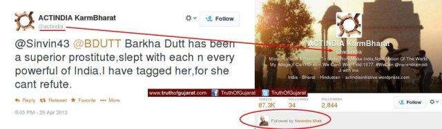 actindia abusing barkha dutt