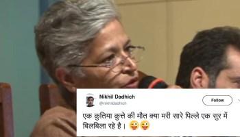Right wing spews venom on social media after Senior Journalist Gauri Lankesh is shot dead