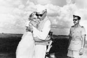 Nehru with sister Vijaylakshmi Pandit