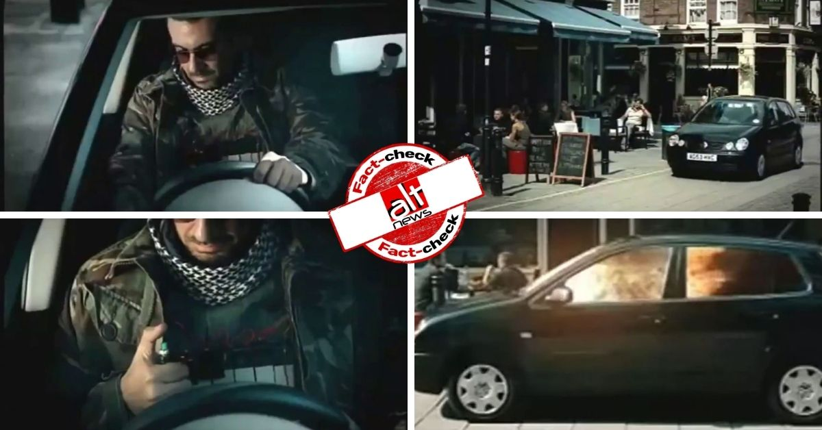 Spoof video from 15 years ago falsely viral as Volkswagen ad 'mocks' Muslims
