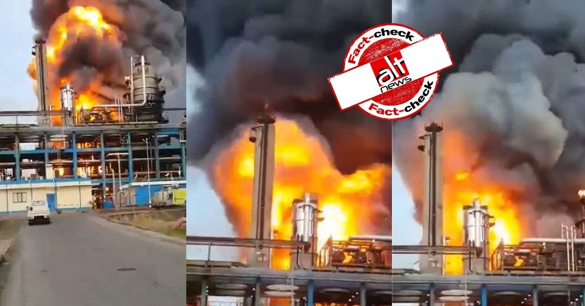 Old video falsely linked to Barauni Refinery blast in Bihar; no deaths