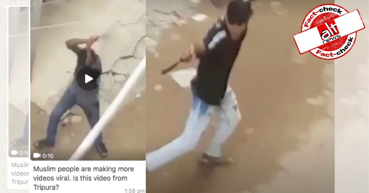 Video from Bangladesh shot in May shared as man hacked to death in Tripura