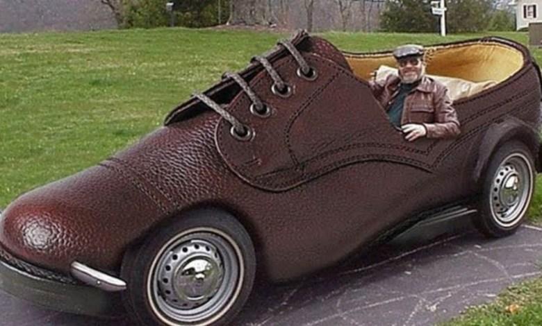foot car