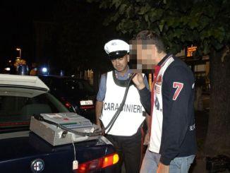 Alla guida ubriachi e sotto l'effetto di stupefacenti, denunciati