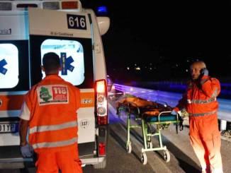 Gualdo Tadino, incidente in Viale Don Bosco, giovane ferito in ospedale