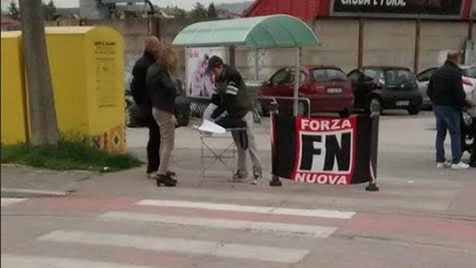 Casa agli italiani, Forza Nuova a Gualdo Tadino