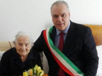 "Santa Pierantoni ha compiuto i suoi ""primi"" 100 anni!"