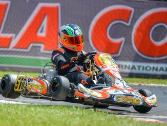 Sfida nell'Italiano Karting per Lorenzo Mariani in Val Vibrata