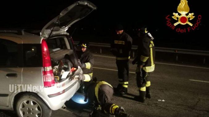 Incidente stradaleun ferito lievesulla Perugia Ancona 318 uscita di Gubbio