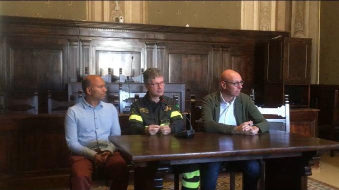 Test internazionale evacuazione di massa dopo incendio