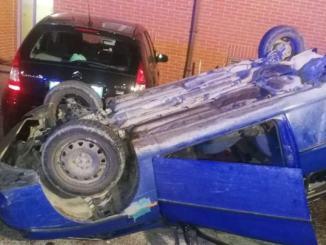 Incidente stradale a Semonte, sulla Pian d'Assino, scontro tra auto, un ferito