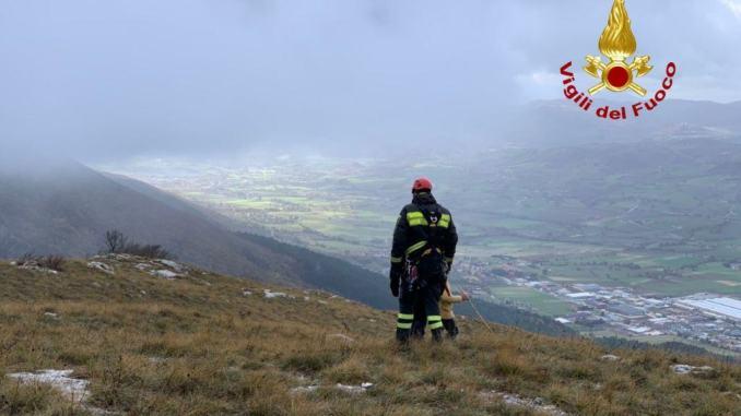 Uomo scomparso a Gualdo Tadino, ricerche in corso