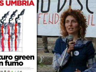 26 gennaio 2021 a Perugia sit-in contro politica rifiuti Regione Umbria