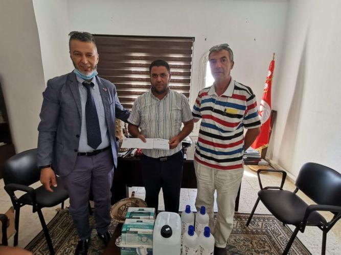 Comune di Gualdo Tadino dona mascherine e gel alle comunità tunisine di Sejnane e Hchechna (Bizerte), con le quali è in collaborazione