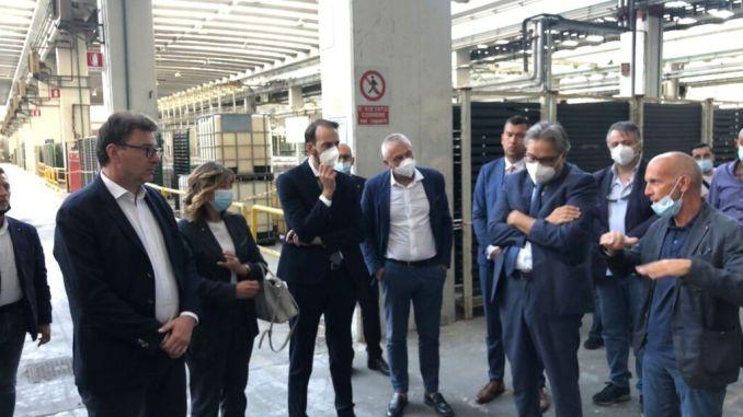 Giorgetti Tesei presentano progetto Parco tecnologico nanomateriali