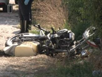 Gubbio, morto motociclista, si è schiantato contro un camion