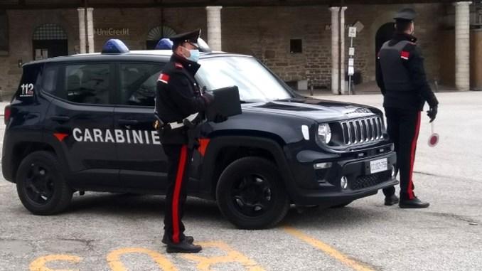 Controlli serrati dei Carabinieri della Compagnia di Gubbio