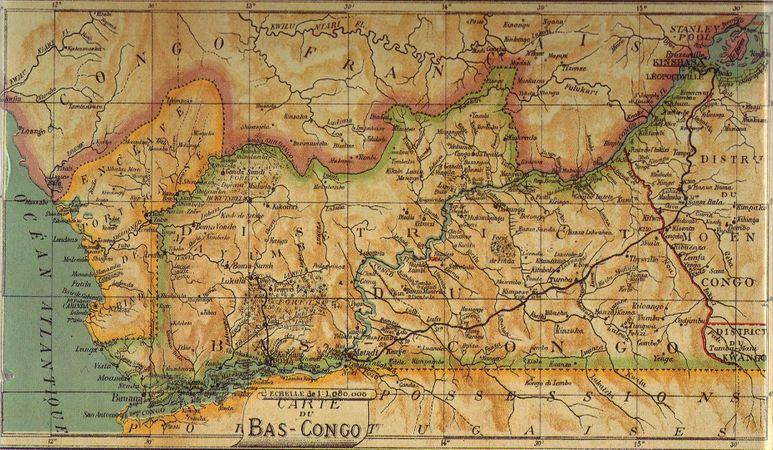 Carte Bas Congo