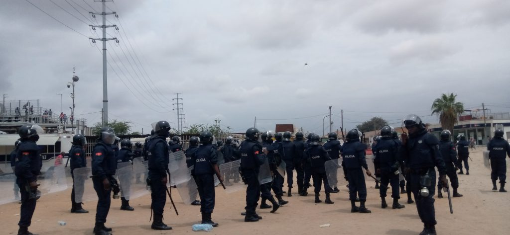 Cabinda, 9 protesters arrested during protest