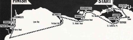 Cowes - Torquay storica gara motonautica d'altura