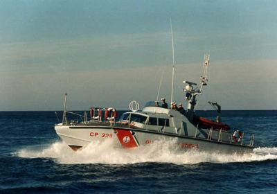 CP 238 Guardia Costiera progetto Sonny Levi Cantiere Canav di Anzio
