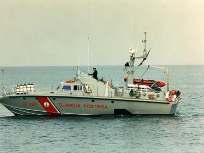 CP 232 Guardia Costiera Cantiere Rodriquez