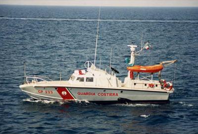 CP 233 Guardia costiera Cantiere Rodriquez Messina progetto Renato levi