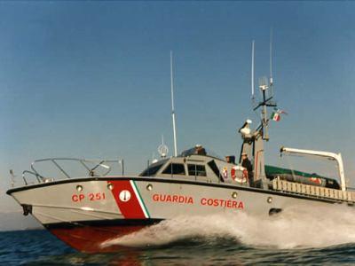 Motovedetta CP 251 Cantieri Canados - Ostia Lido